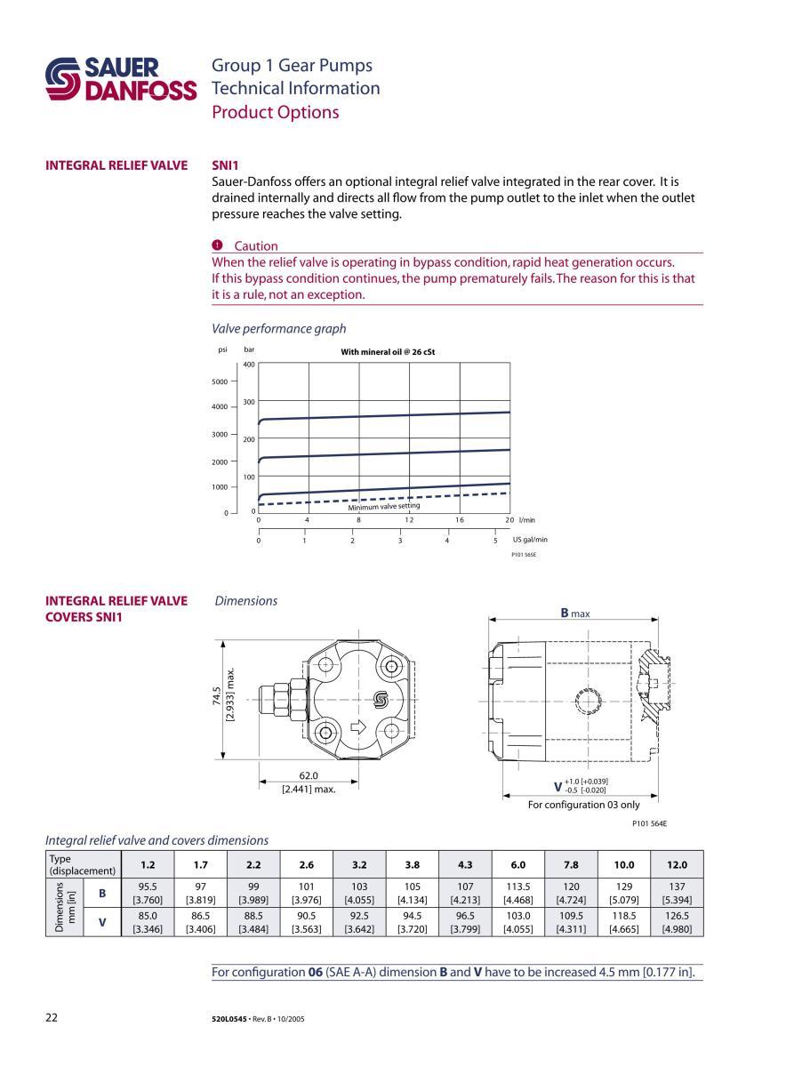 bơm bánh răng, bơm danfoss, sauer danfoss, danfoss gear pumps, máy bơm thủy lực, SEP1, SNP1, SKP1, SNI1